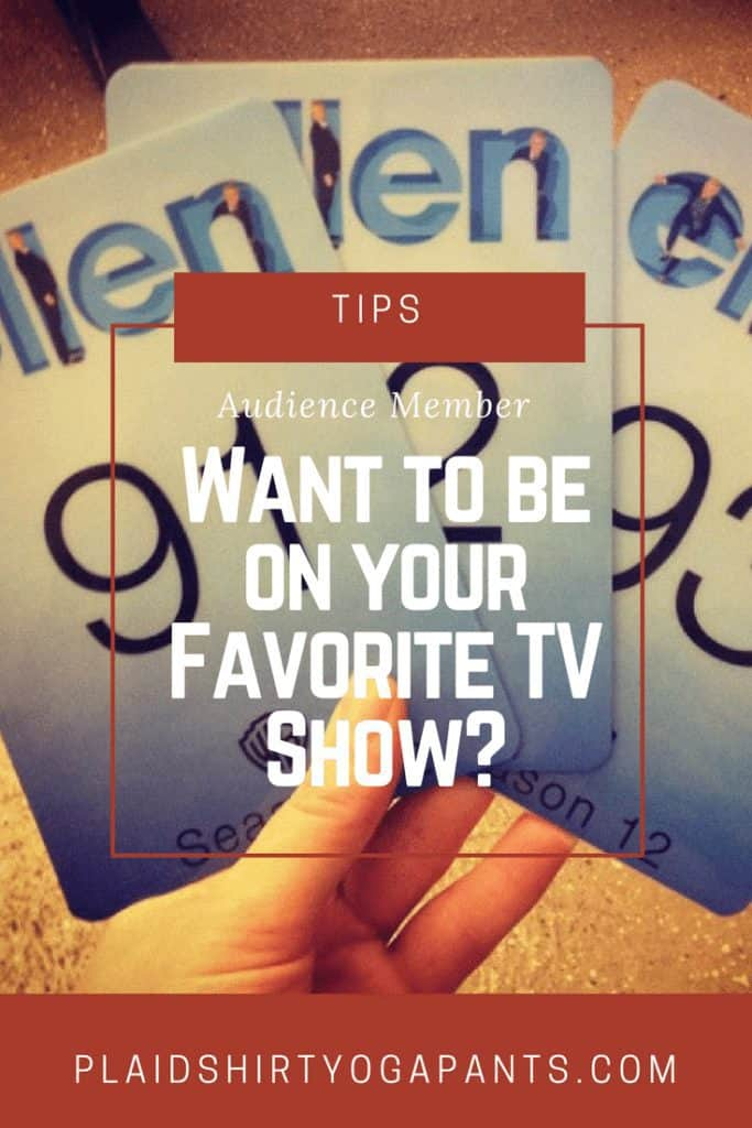 How to win tickets to your favorite TV show and successfully get on TV during the audience segments. Tips for Ellen, Jimmy Fallon, and The Price is Right.