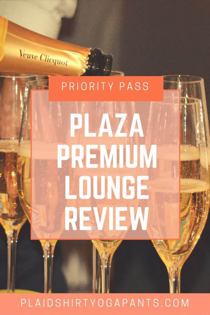 Plaza Premium Lounge - Read my review about using Priority Pass to gain lounge access to experience the VIP treatment in travel. PlaidShirtYogaPants.com