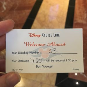 Disney Alaskan Cruise review of the boarding process at Canada Place and Embarkation day from Vancouver to the Inside passage of Alaska. #Tripreport #plaidshirtyogapants #travelblog