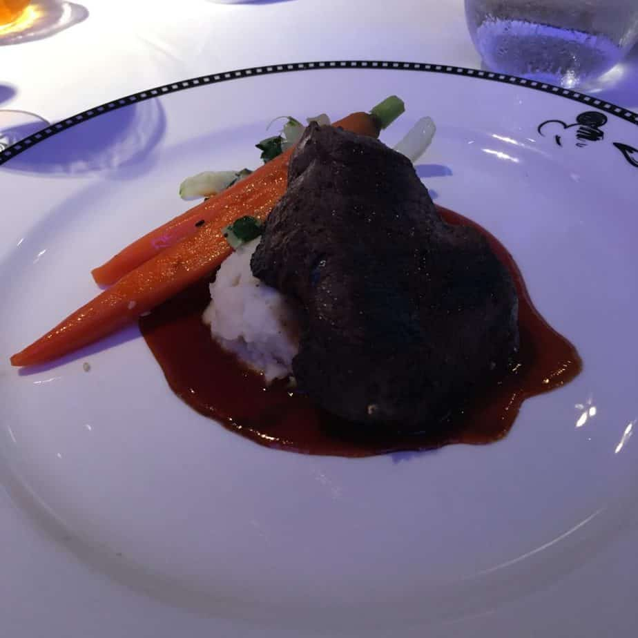 Delicious dining experience onboard the Disney Wonder on an Alaskan Excursion. Learn all the delicious things we dined on at Cabanas, Triton's, Tiana's Place, and Animators Palate. Click to read more!