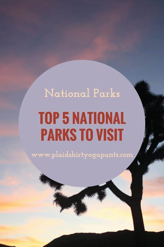 Top Five National Parks to Visit