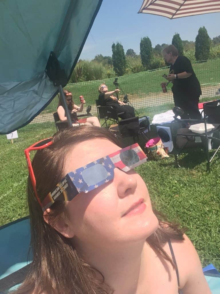 Viewing the Great American Solar Eclipse at the Old Glory Distillery in Clarksville, Tennessee was one of the best bucket list items checked off to date.