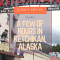 Ketchikan was the last port of call until the long sail back to Vancouver. We were also in port from 11:15 am until 7:45 pm, so it was a different vibe and feel for excursion day. I had decided to purchase tickets online through a third party to visit Misty Fjords National Monument, so it was the first time that we were actually on our own.