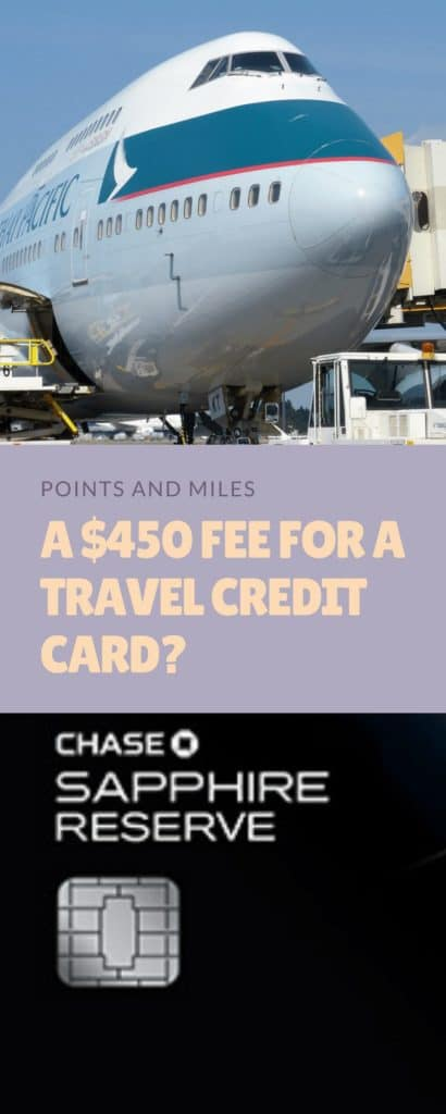 450 For A Travel Credit Card Are You Insane Yes