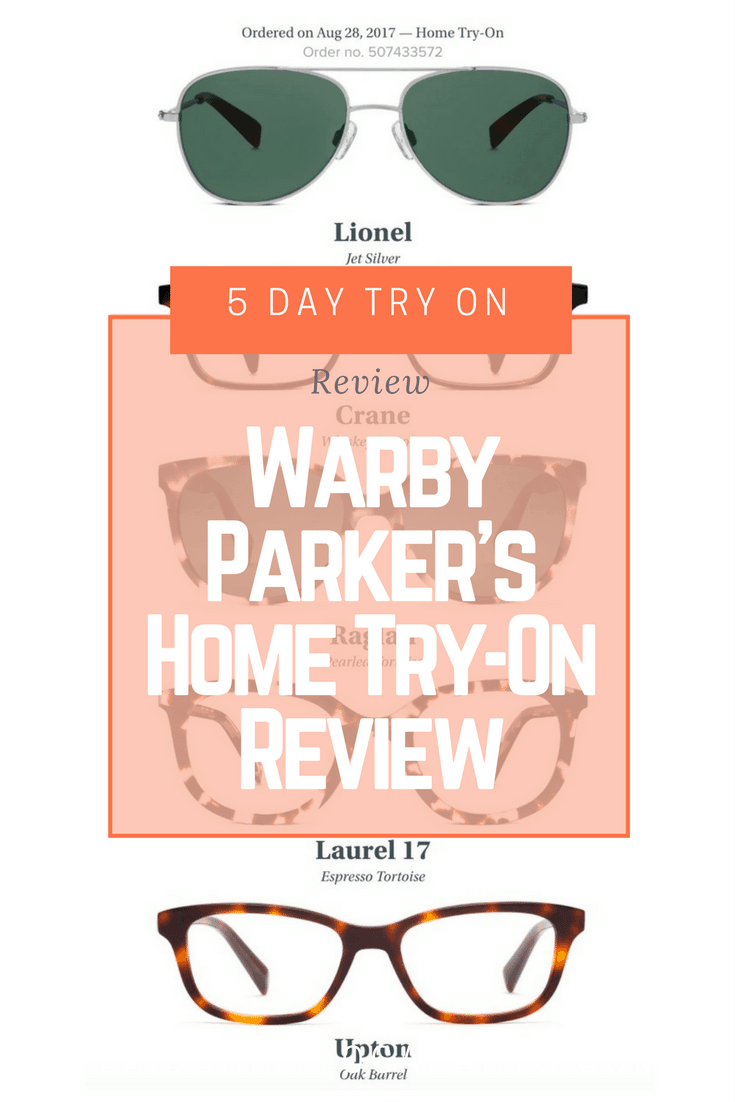 Warby Parker's Home Try-On Review