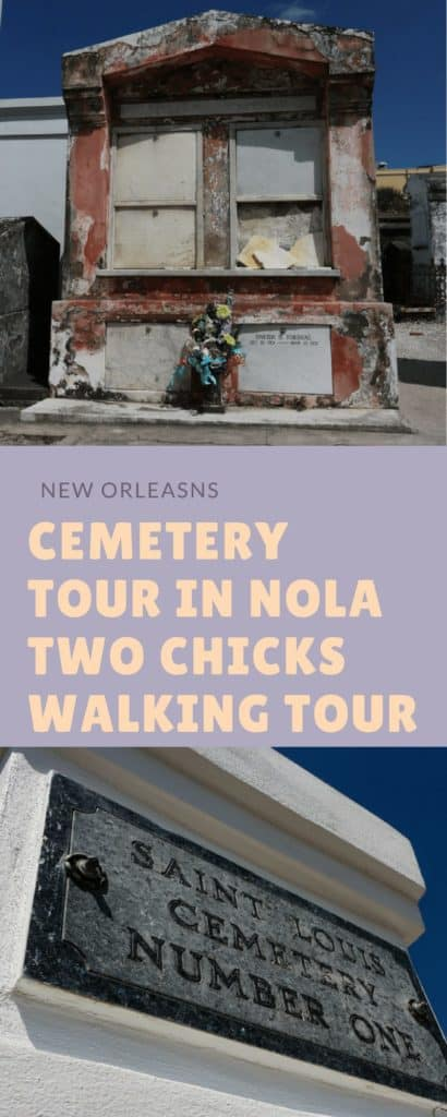 When I am not traveling, one of my favorite things to do is to tour my hometown of New Orleans as if I were on vacation. This past month I took my first ever Cemetery Tour of St Louis #1 with Two Chicks Walking Tour.