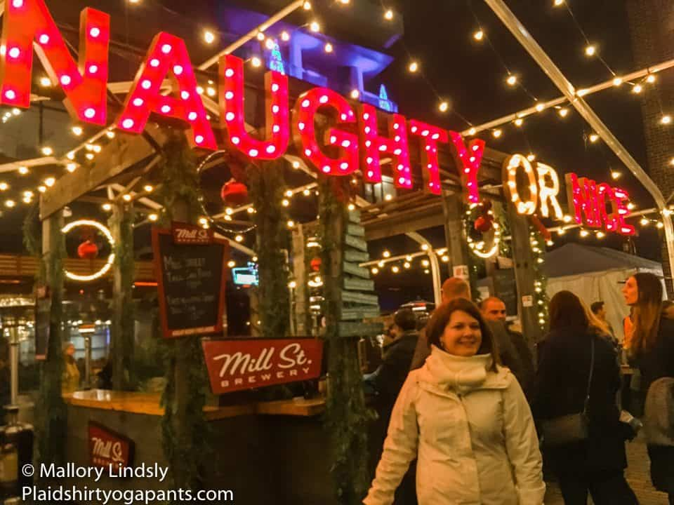 Found out what Schnitzel at Christmas Market
